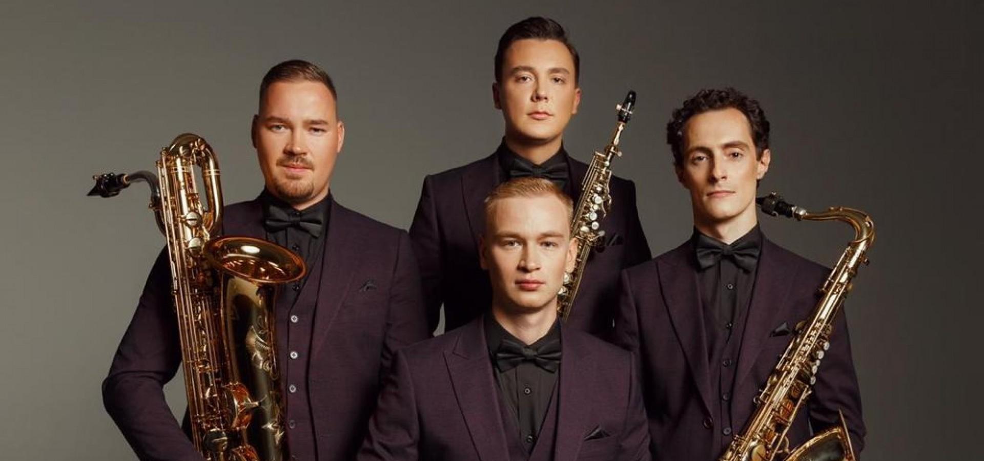 Tango с Кармен. Russian Saxophone Quartet. Концерт в оранжерее ВДНХ фото
