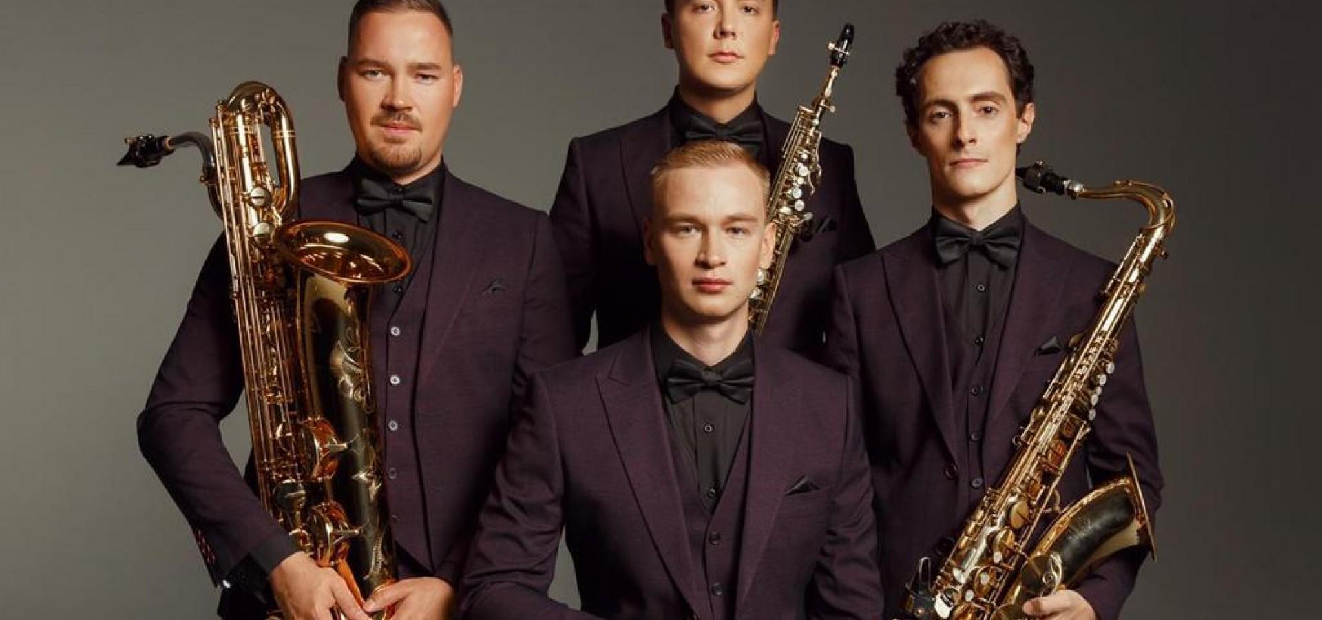 Summer time. Russian Saxophone Quartet. Концерт в оранжерее ВДНХ фото
